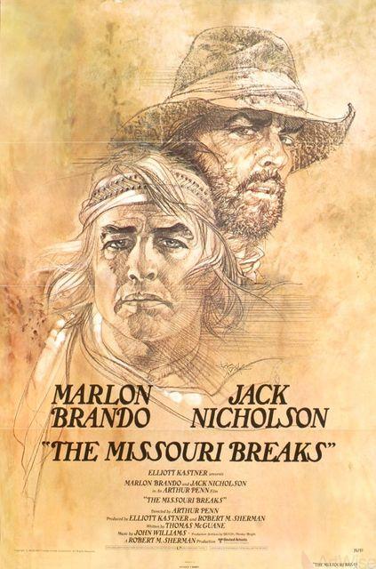 , 'The Missouri Breaks,' 1976, ArtWise
