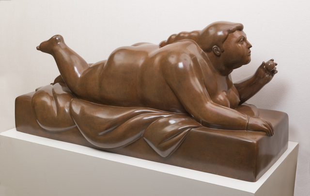 , 'Lying-down Woman with Fruit,' 2011, Art Of The World Gallery