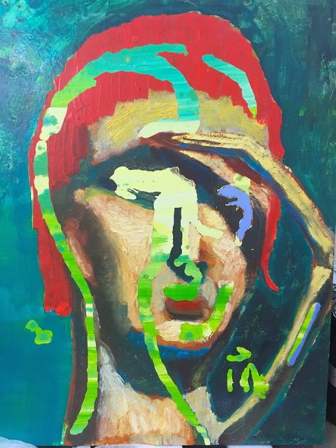 , 'Eye Shadow,' 2016, Evelyn Yard