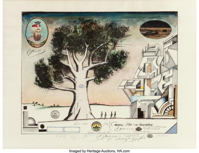 Saul Steinberg, 'Tree Bauhaus (varient)', 1968, Heritage Auctions