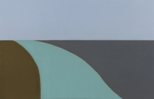 , 'Untitled (Blue/Blue Green),' 2015, Berry Campbell Gallery
