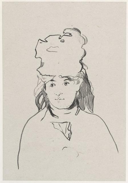 Édouard Manet, 'Berthe Morisot', 1872, National Gallery of Art, Washington, D.C.