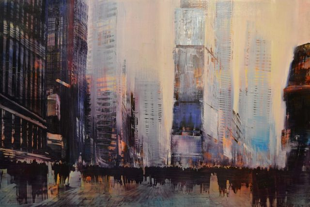 , 'Times Square Luminous Atmosphere,' 2017, Lily Pad West