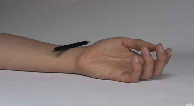 , 'Action No. 13 Hand Pencil,' 2008-2011, MARSO