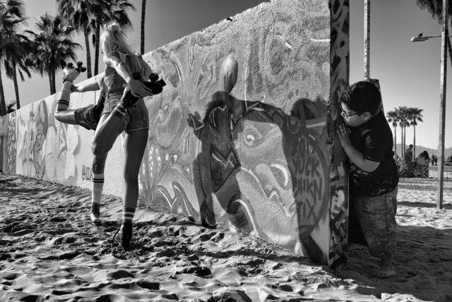 Dotan Saguy, 'Peeking from Behind the Graffiti Wall', 2017, Fabrik Projects Gallery