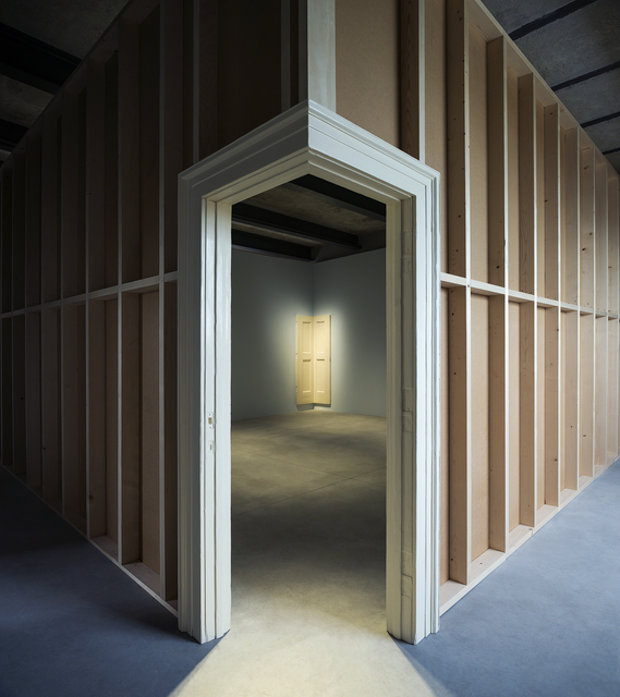 Robert Gober, 'Corner Door and Doorframe (Installation view)', 2014-2015, Fondazione Prada