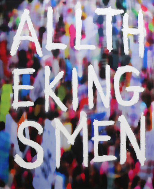 , 'All the Kings Men,' 2017, UNIX Gallery