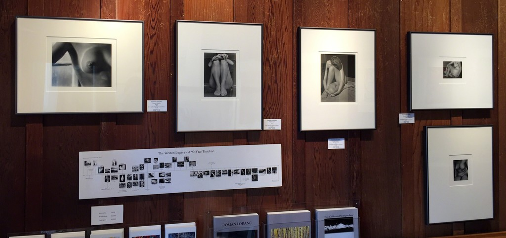 Early nudes by Edward Weston and Brett Weston