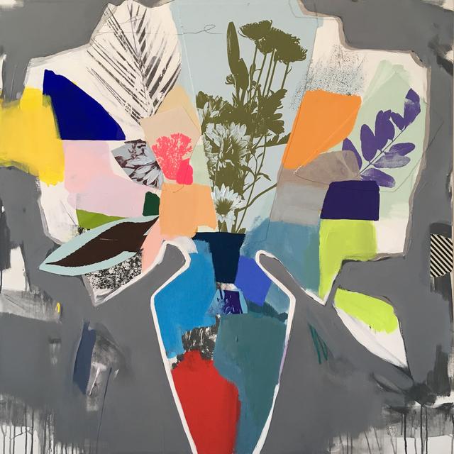 , 'Bouquet (colour block) II,' 2018, Newzones