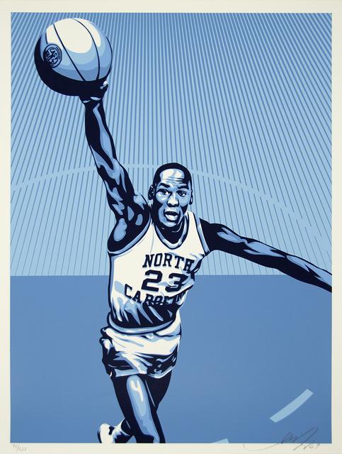 Shepard Fairey, 'Jordan North Carolina', 2009, Heather James Gallery Auction