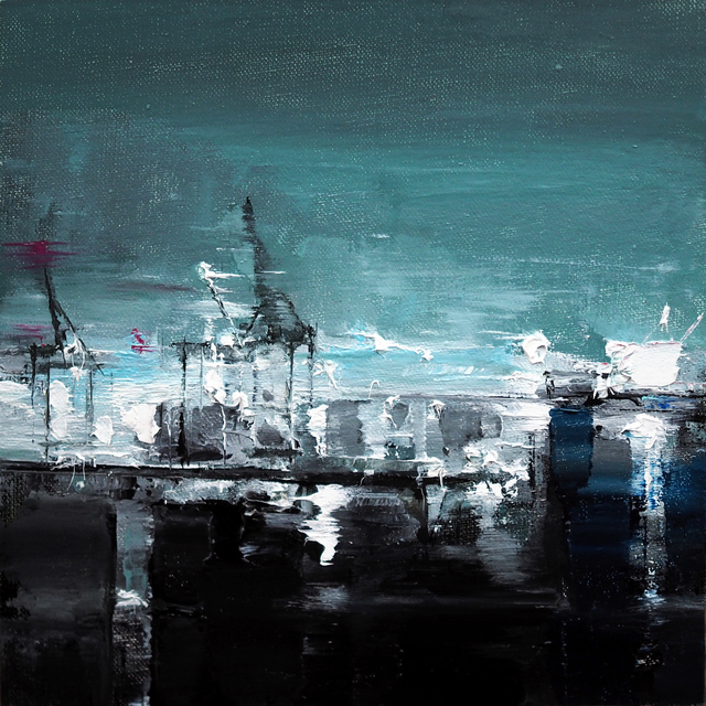 , 'Hamburg Harbour,' 2017, Abend Gallery
