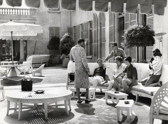 , 'Gianni Agnelli, Carlo Caracciolo, Marella Agnelli and Carlo de Robilan. July 1957.,' 1957, Photo12 Galerie