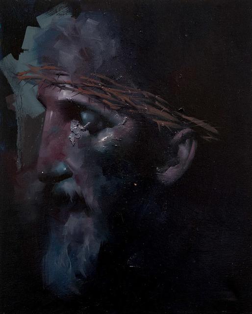 , 'Sketch of Christ #3,' 2018, Modern Eden