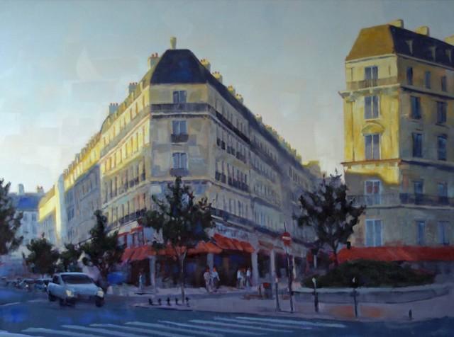 , 'Paris in the Morning,' 2012, Susan Calloway Fine Arts