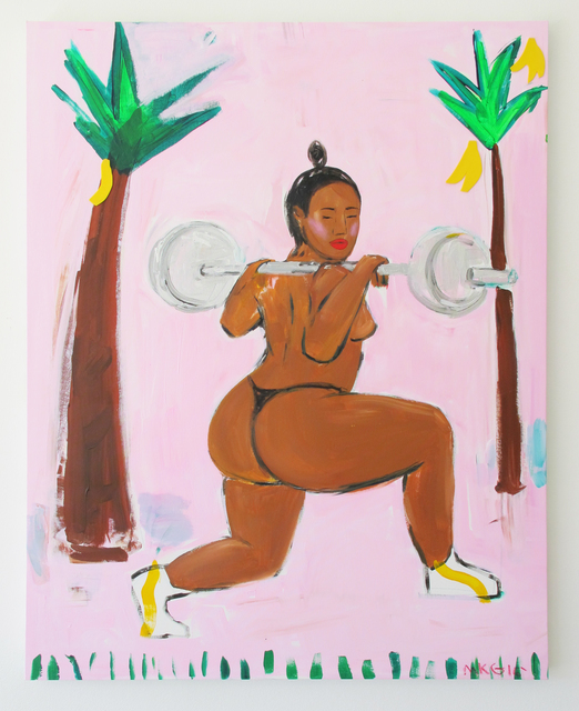 , 'Miami 16 (Gonna Be A Fitness Model Tho),' 2016, V1 Gallery