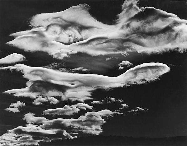 , 'Clouds, Owens Valley,' 1968-printed circa 1976, Scott Nichols Gallery