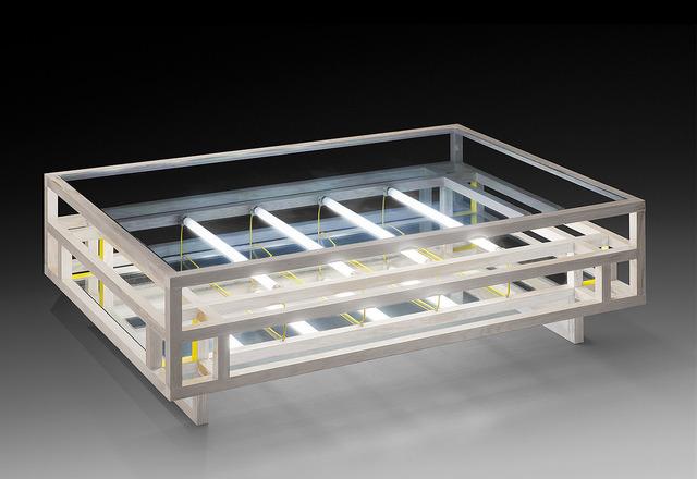 , 'LT01 Minimalist coffee table, kinetic and infinite,' 2013, Galerie Diane de Polignac & Chazournes