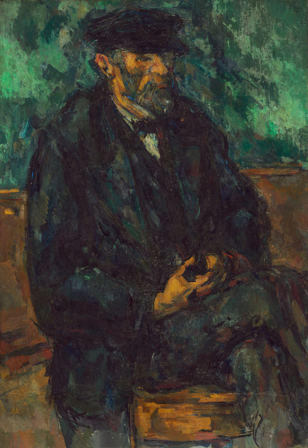 Paul Cézanne, 'The Gardener Vallier', 1906, National Gallery of Art, Washington, D.C.