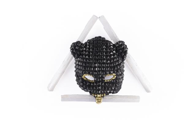 , 'Selenite Triangle Gold Mask,' 2017, MAIA Contemporary