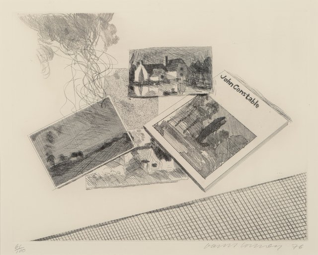 David Hockney, 'For John Constable', 1976, Heritage Auctions