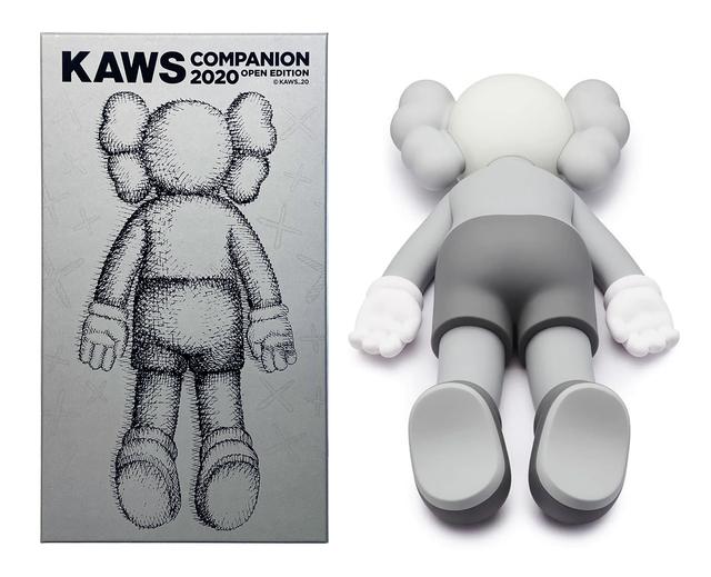 KAWS, 'Companion 2020 (Grey)', 2020, Ephemera or Merchandise, Vinyl, Side X Side Gallery