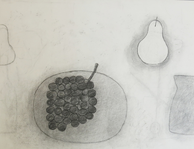 , 'Untitled (Plate, Grapes, Pear & Jug),' 1975, Osborne Samuel