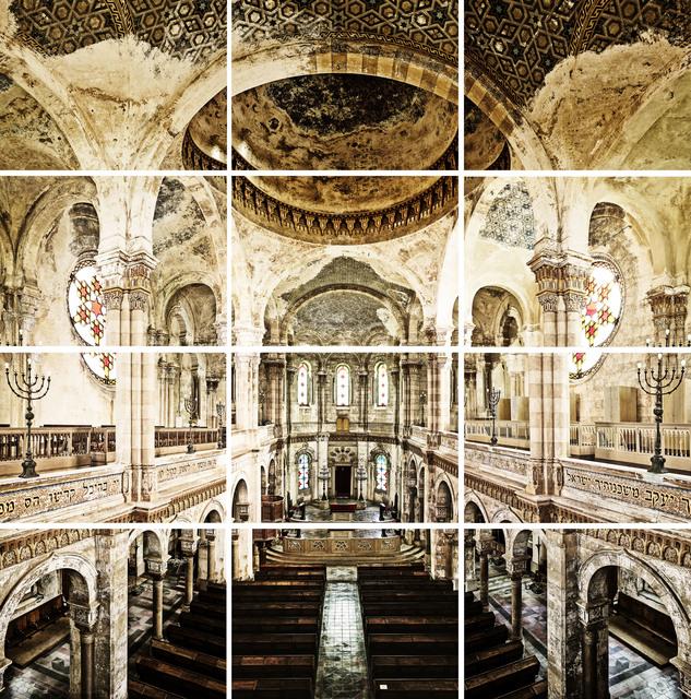 , 'Vercelli Synagogue 1878 I,' 2017, Galerie Nikolaus Ruzicska