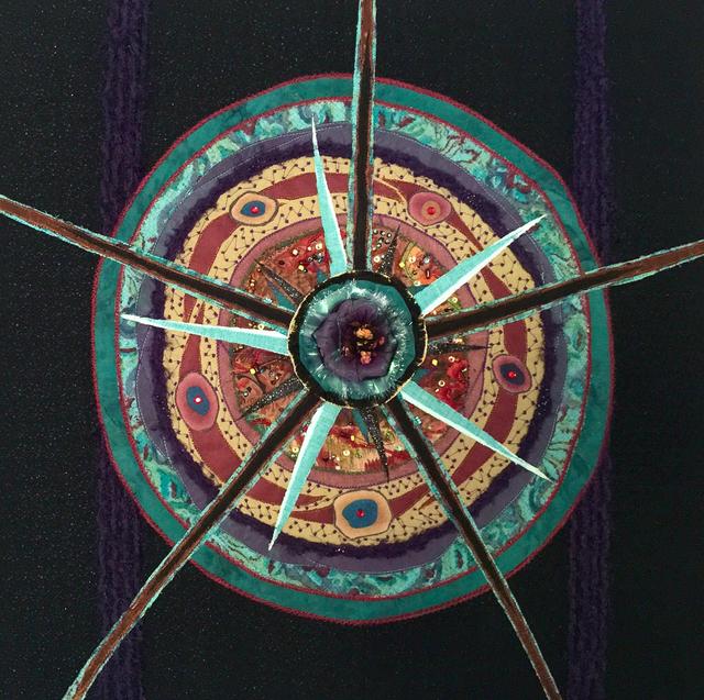 , 'Turquoise Burst ,' , Priscilla Fowler Fine Art
