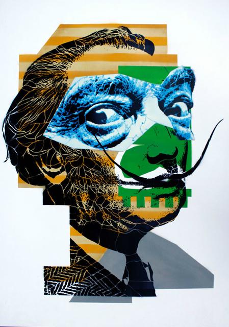 , ' Portrait of Salvador Dalì  ,' 2011, Manfredi Style