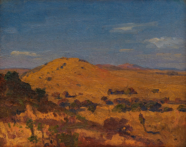 Jacob Hendrik Pierneef, 'South West African Scene', Strauss & Co