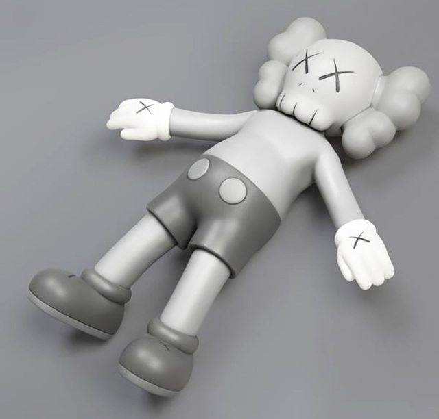 KAWS, 'KAWS Grey Holiday Companion', 2019, Lot 180