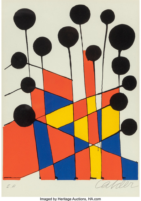 Alexander Calder, 'Untitled (Balloons) from XXe Siecle No 37', 1971, Heritage Auctions