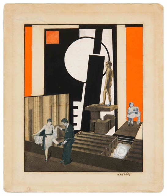 , 'Décor de Scène (Set Design),' 1926, Galerie Le Minotaure