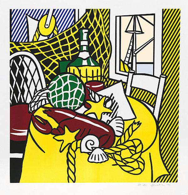 Roy Lichtenstein, 'STILL LIFE WITH LOBSTER', 1974, Marcel Katz Art