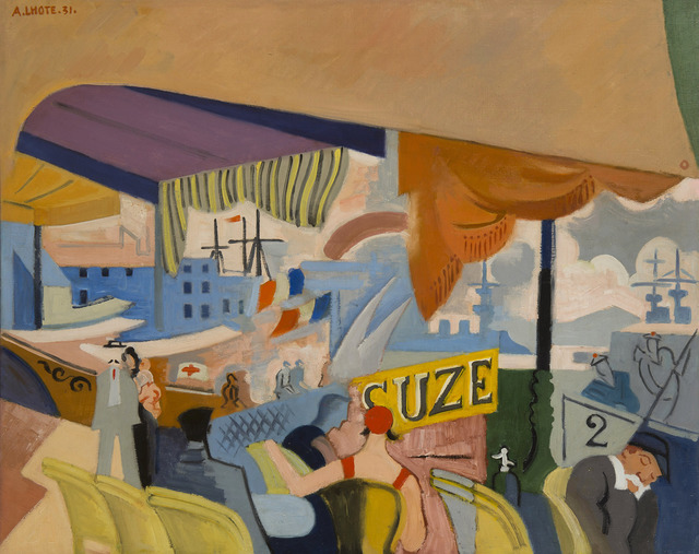 André Lhote, 'Aux sablettes ou Toulon', 1931, HELENE BAILLY GALLERY
