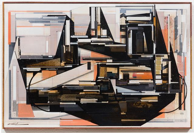 , 'Memory Map,' 2018, Galerie Matthew Namour