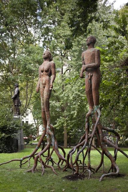 , 'Treesouls,' 1994, Madison Square Park