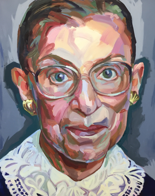 , 'Notorious RBG,' 2017, Miller Gallery Charleston