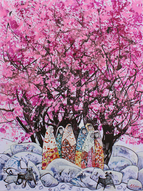 Farrukh Negmatzade, 'Almond blooming', 2017, OYANU Gallery