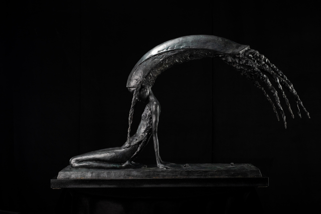 Andrey Ostashov, 'PEARL', 2019, Sculpture, Bronze, Granite,  OSTASHOV sculpture