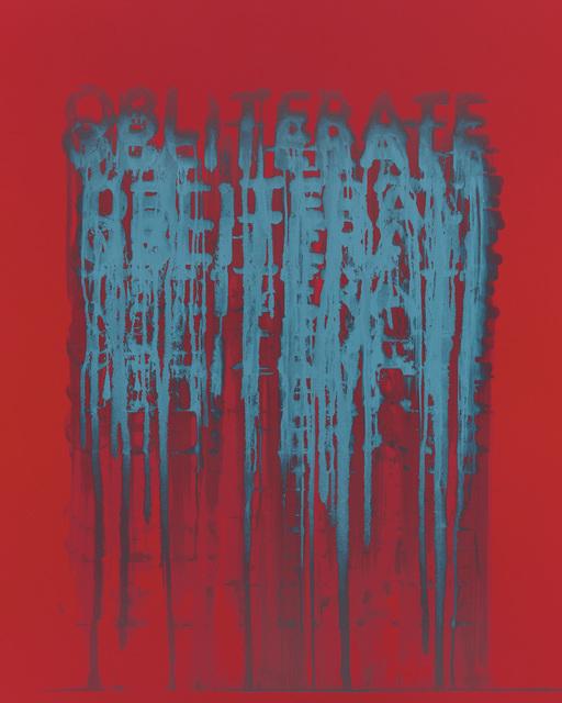 , 'Obliterate,' 2018, Galerie de Bellefeuille