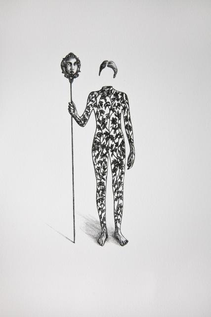 , 'L'envers du miroir,' 2017, Galerie D'Este