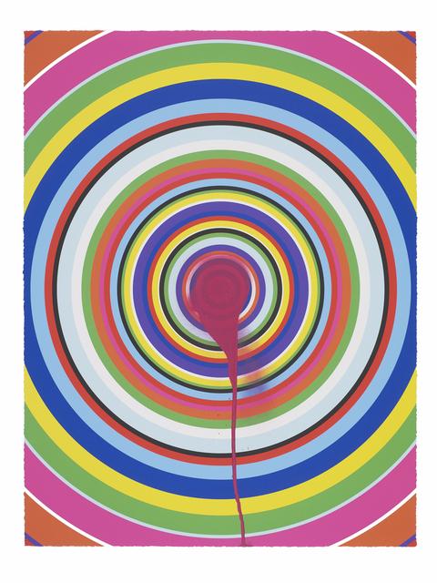 Jim Lambie, 'Sunspots (Fuscia)', 2018, Carolina Nitsch Contemporary Art