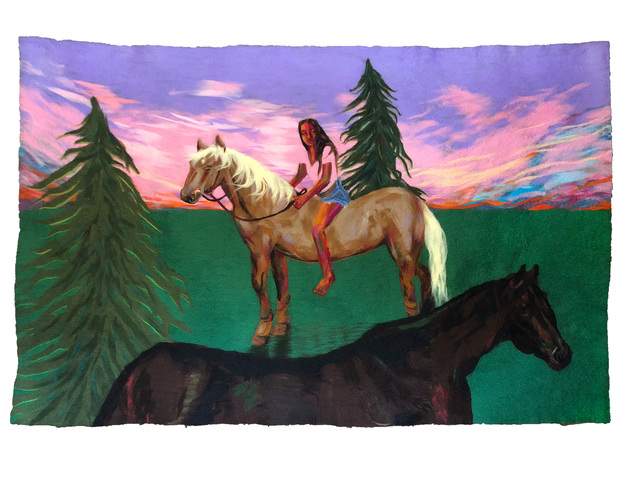 , 'The Horsewoman,' 2018, HATHAWAY | Contemporary Gallery