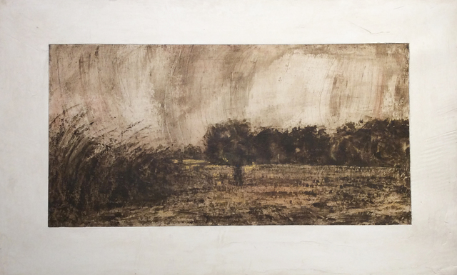 , 'Unknown Figure in a Plowed Field,' 2007, Carrie Haddad Gallery