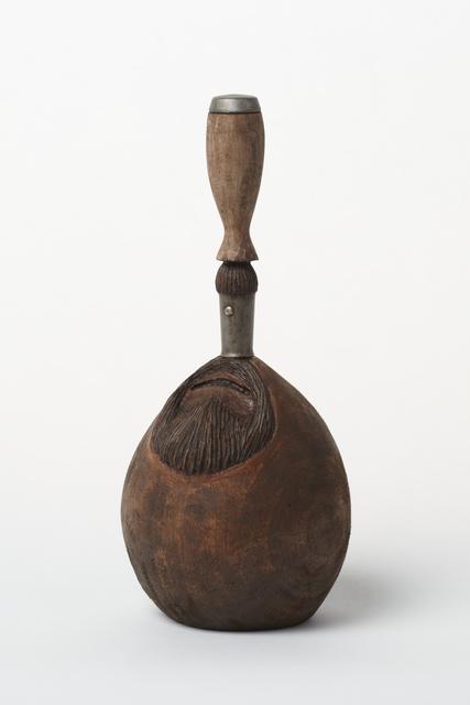 Keisuke Yamamoto, 'One-eyed drinker', 2013, Sculpture, Screwdriver, wood, oil stain, Tomio Koyama Gallery