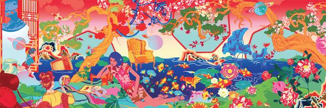 , 'Shanghai Tang Café,' 2017, Contemporary by Angela Li