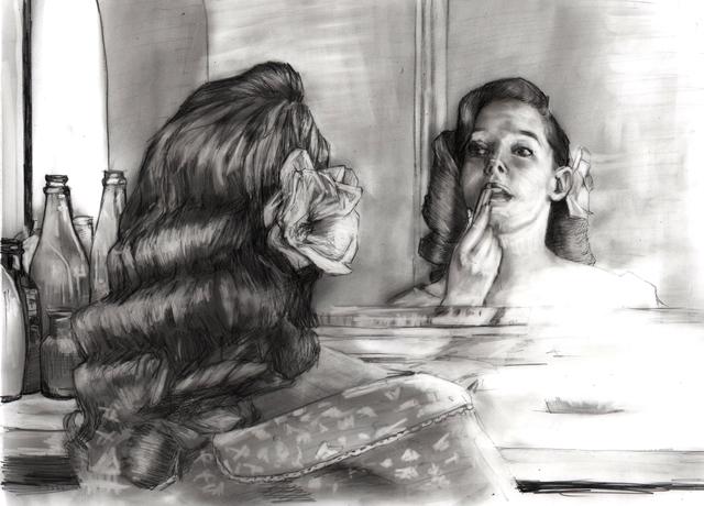 , 'Mirror - study sketch,' 2016, Lustre Contemporary