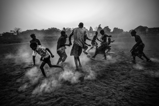 , 'Football in Guinea Bissau,' March 3-2012, Brooklyn Museum