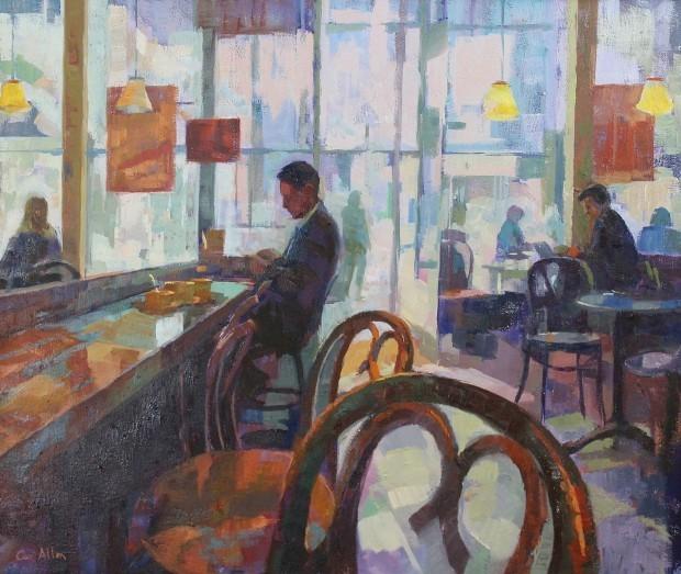 Ceri Allen, 'Near the Royal Academy I', Castlegate House Gallery